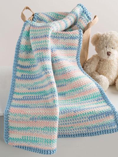 Crochet Afghan Patterns Sweet Baby Blanket Crochet Pattern