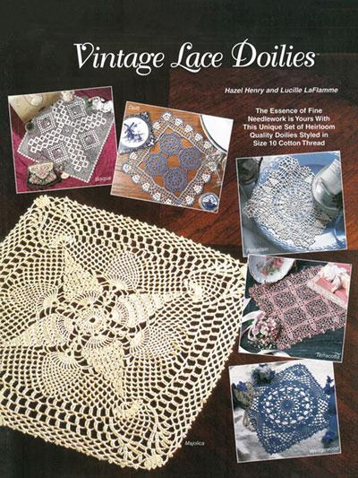 Crochet Patterns Out Of Print Patterns Vintage Lace Doilies