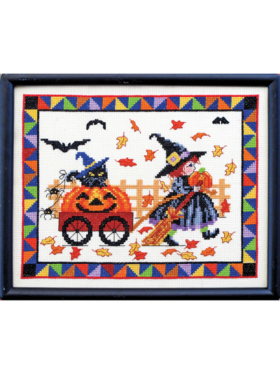 Pumpkins on Parade Cross Stitch Patterns