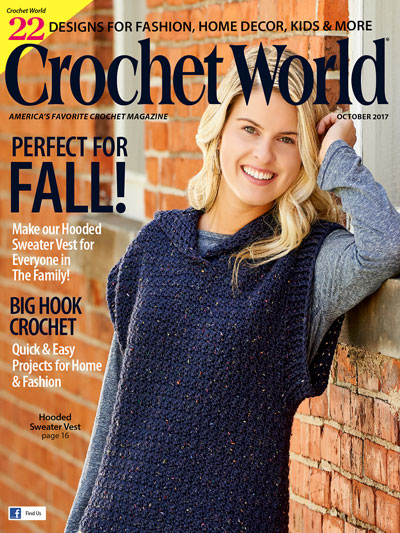 Crochet World October 2017