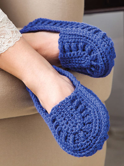 New Crochet Patterns Lucy Slippers