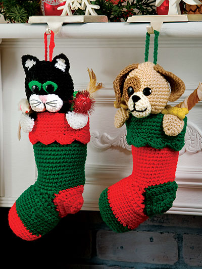 Crochet Pet Stockings