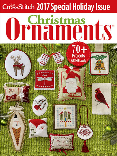 Just Cross Stitch Christmas Ornaments 70 plus cross stitch patterns for Christmas