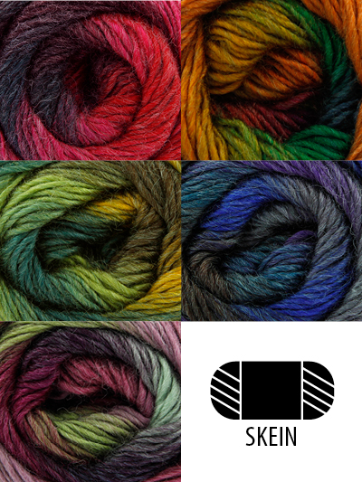 King Cole Multi-Colored Yarn