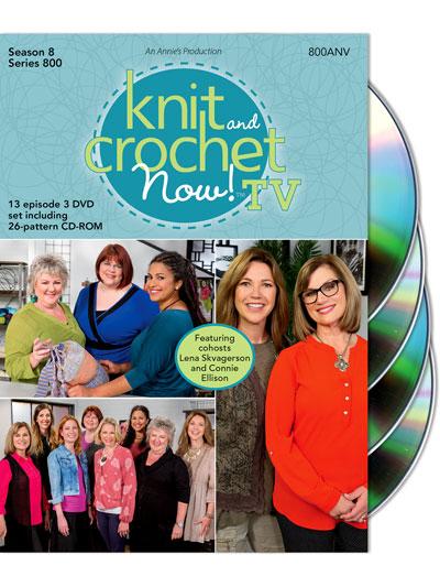 Knitting Patterns Supplies Knit And Crochet Now Season 8 Dvd