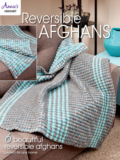 Reversible Afghans Crochet Pattern Book Mesmerizing Afghan Patterns