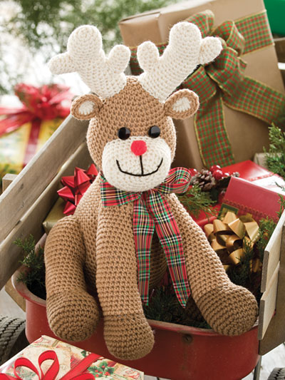 Crochet Rudy the Reindeer Holiday Christmas Crochet Pattern