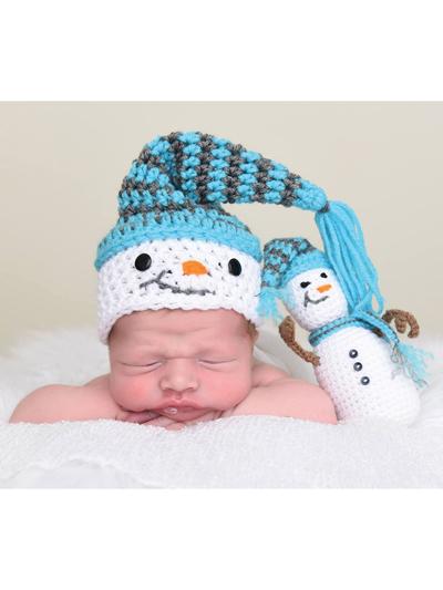 Seasonal Crochet Patterns - Snowman Hat   Stuffy Crochet Pattern 27eb1da8fe1f