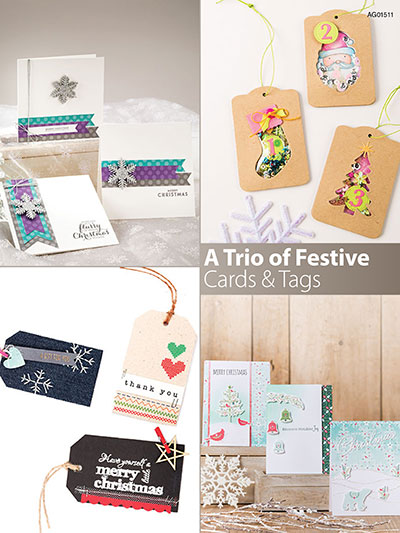 A trio of Festive Cards & Tags