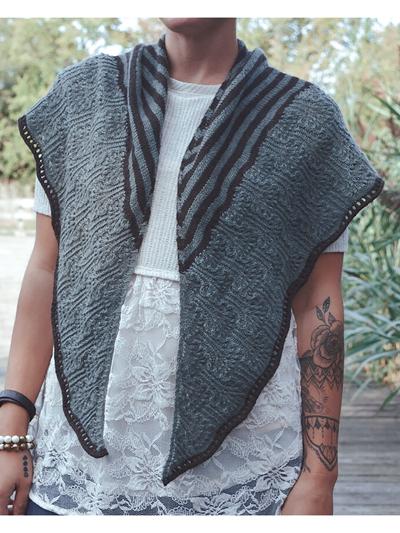 Shawl & Wrap Knit Patterns - Follow Your Bliss Knit Pattern