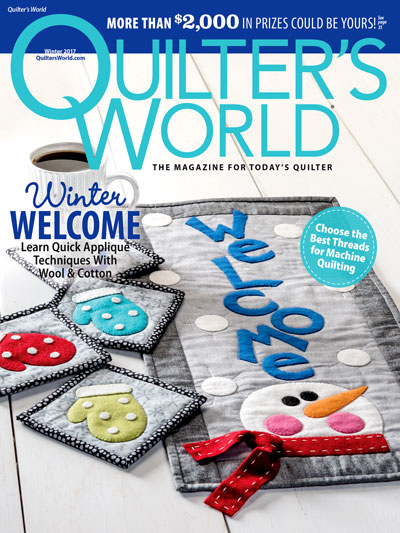 Quilter's World Winter 2017