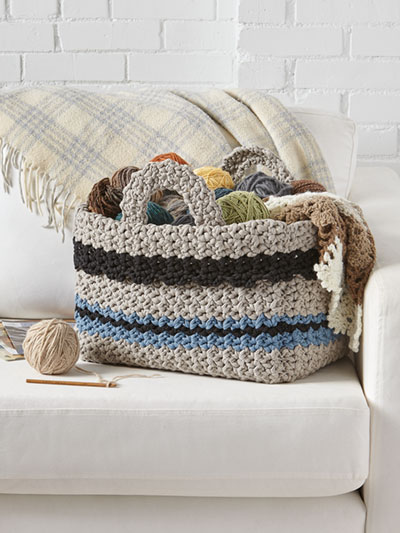 Big Hook Basket Crochet Pattern