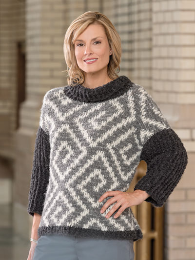 Crochet Patterns North Pole Sweater Crochet Pattern