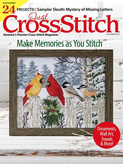 Just CrossStitch Nov/Dec 2017
