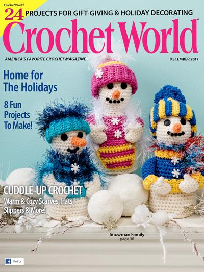 Crochet World December 2017