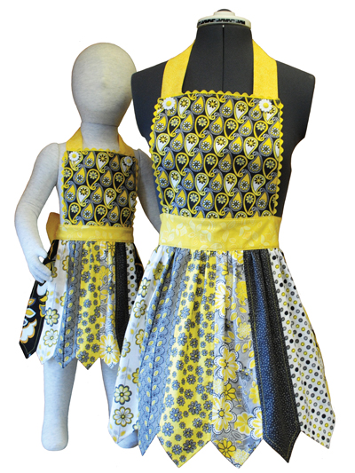 Mom and Me Aprons Sewing Pattern