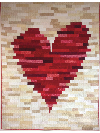 New Quilt Patterns Have A Heart Quilt Pattern Enchanting Heart Quilt Pattern
