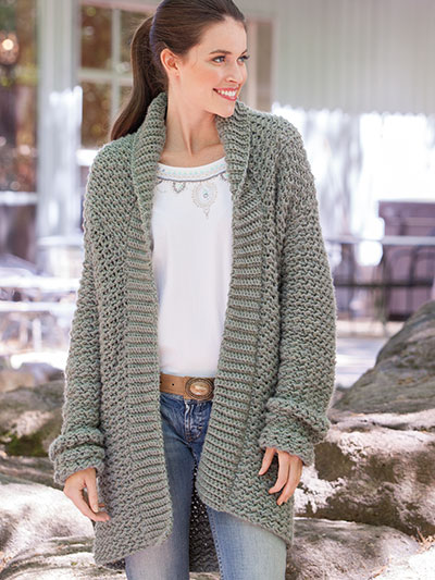8666a2dd5 Weekend Casual Hooded Sweater Crochet Pattern. loading. Snuggle in the  textured fabric of this casual sweater with an oversized hood!