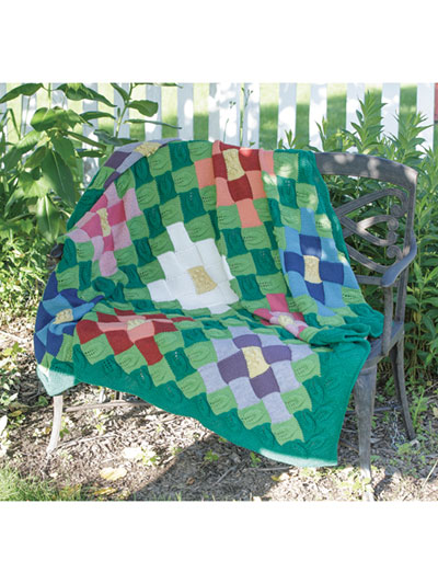Ron's Garden Afghan Knit Pattern
