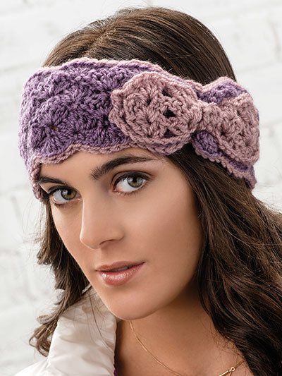 Crochet Accessory Patterns Beautiful Bow Head Wrap Crochet Pattern