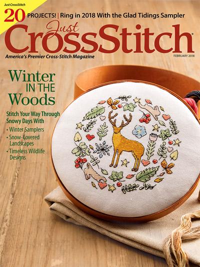 Just CrossStitch Jan/Feb 2018