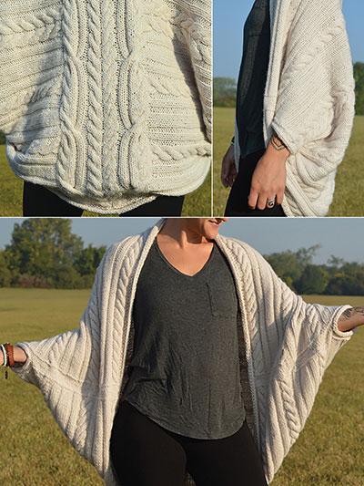 New Knitting Patterns Free Bird Cocoon Knit Pattern