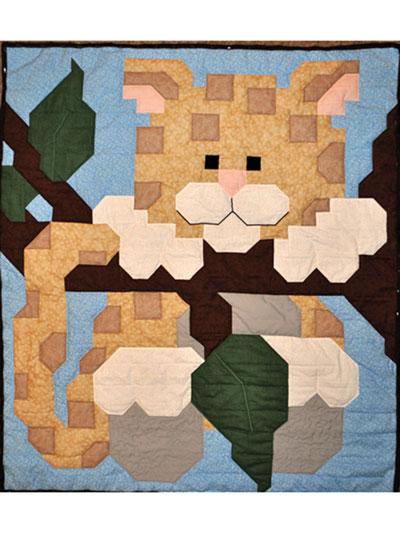 leopard quilt pattern