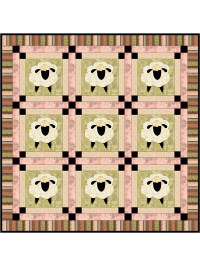Quilt Patterns - Baa, Baa Sheep Quilt Pattern : sheep quilt pattern - Adamdwight.com