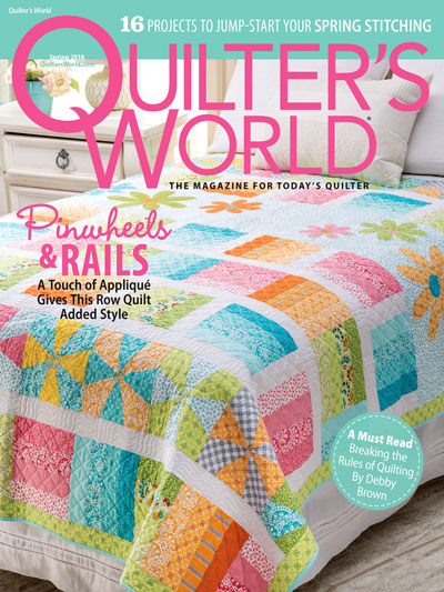 Quilter's World Spring 2018