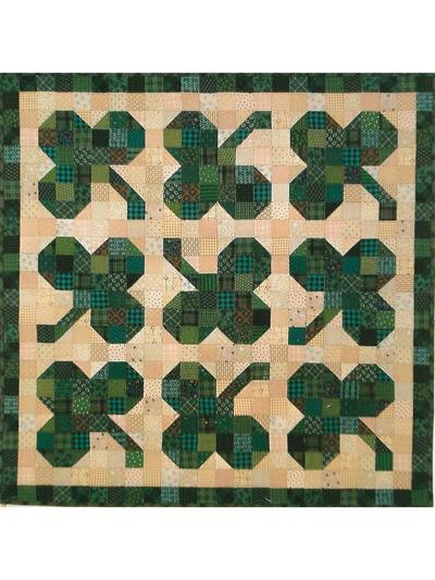 Shamrocks Quilt Pattern