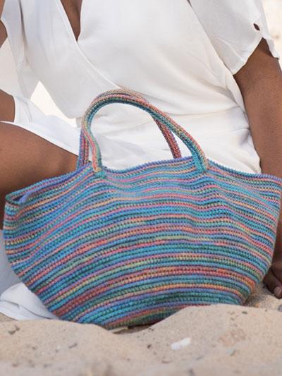 Crochet Handbag Patterns Spiaggia Purse Crochet Pattern