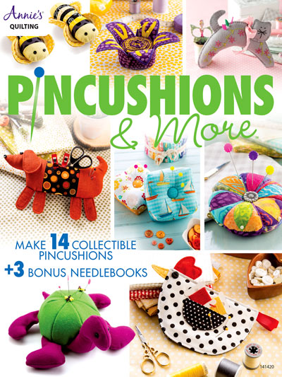Pincushions and More Sewing Patterns for 14 Collectible Pincushions