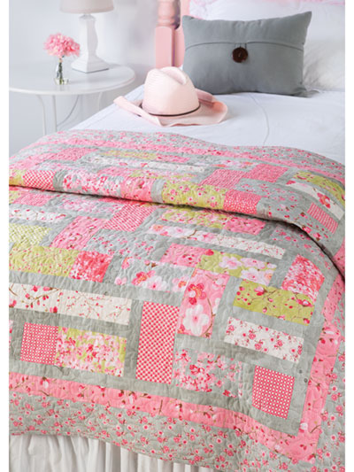 EXCLUSIVELY ANNIE'S QUILT DESIGNS: Pink Lemonade Quilt Pattern