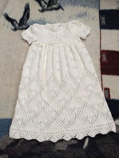 0e5e5563c849 Heirloom Quality Christening Gown Knitting Pattern