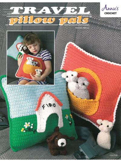 Travel Pillow Pals Crochet Pattern