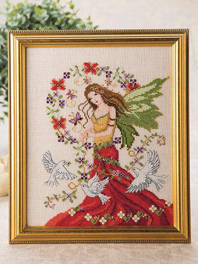 46f435996a15 Counted Cross-Stitch Patterns - Peace Angel Cross Stitch Pattern