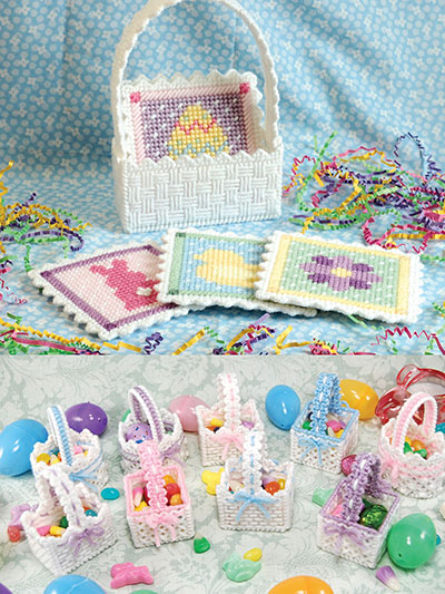 Lacy Easter Decorations Plastic Canvas Patterns
