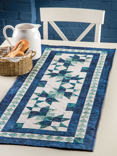 Pieced Quilted Table Topper Downloads EXCLUSIVELY ANNIE'S QUILT Gorgeous Table Runner Quilt Patterns