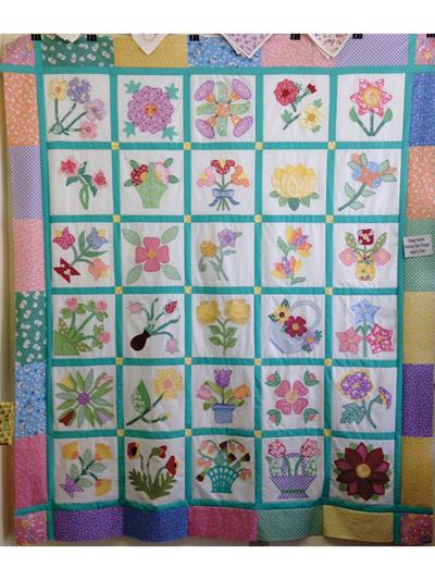 Vintage Sampler Quilt Pattern New Sampler Quilt Patterns