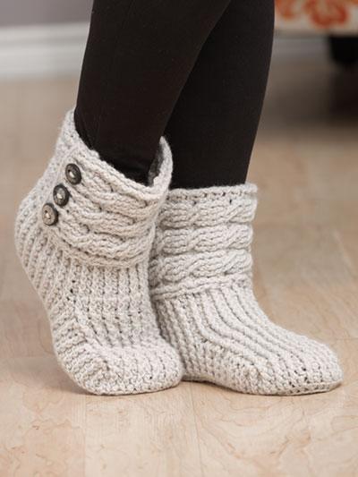 Crochet a Pair of Helix Crochet Boots Get the Pattern