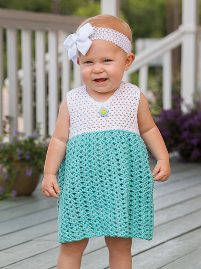 Baby Kids Crochet Patterns Cristal Baby Bolero Sundress