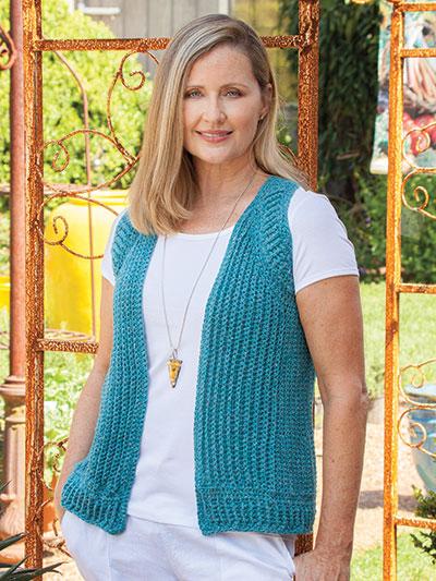 cb155c76e1888 Crochet Cardigan   Vest Patterns - Avant-Garde Vest Crochet Pattern