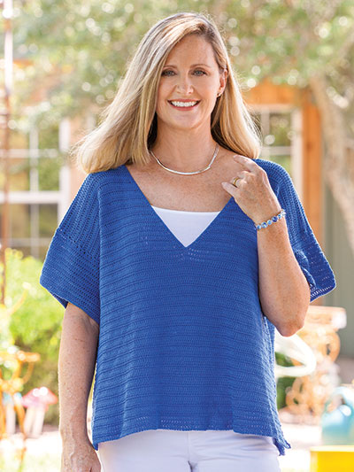 879f708afd50f Catching Rays Oversize Tee Crochet Pattern