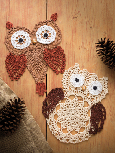 Hooty Hoo Pineapple Owls crochet pattern