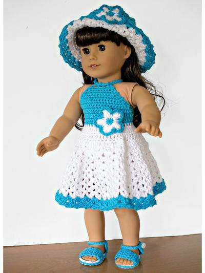 12+ Free Crochet Doll Clothes Patterns   FaveCrafts.com   533x400