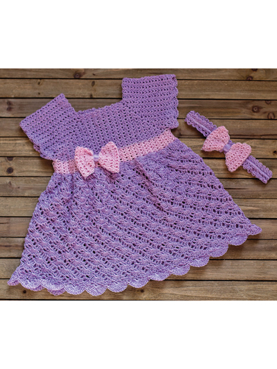 Princess Dress Crochet Pattern
