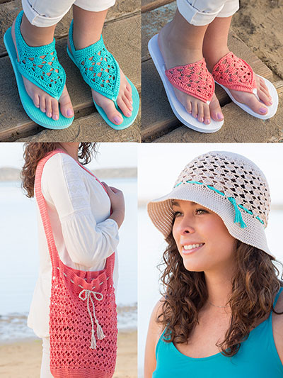 ANNIE'S SIGNATURE DESIGNS: Coral Reef Set Crochet Pattern