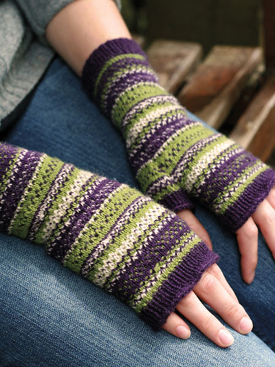 Elan Mitts Knit Pattern