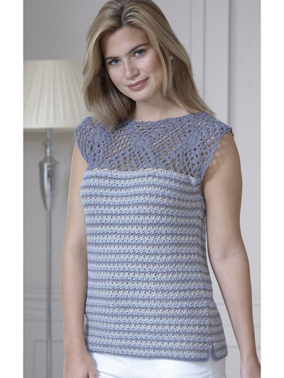Top and Cardigan Crochet Pattern