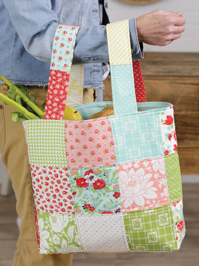 Market Bag Quilt Pattern